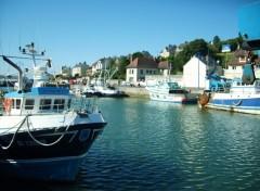 Wallpapers Boats Port en Bessin
