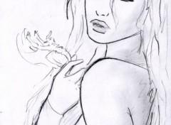 Fonds d'écran Art - Crayon fan art n14