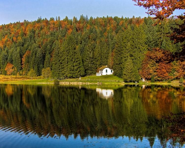 Fonds d'écran Nature Lacs - Etangs Lac Genin