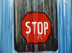 Fonds d'écran Art - Peinture STOP