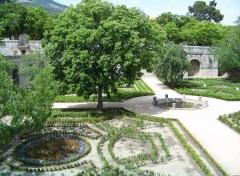 Fonds d'écran Nature Jardin dans le Monasterio del Escorial (Madrid).