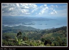 Fonds d'écran Nature Rwanda - Lac Kivu