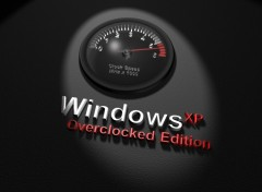 Fonds d'écran Informatique Windows XP Overclocked Edition
