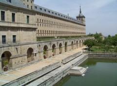 Fonds d'écran Voyages : Europe Monasterio del Escorial (Madrid)