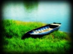 Wallpapers Boats barque au bord de la Loire