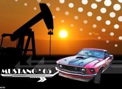 Fonds d'écran Voitures Mustang texas