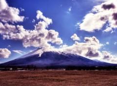 Fonds d'écran Nature Entre ciel et terre : la montagne