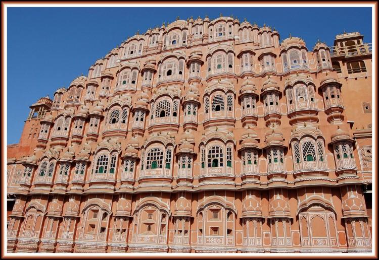 Wallpapers Trips : Asia India Façade à Jaipur - Rajasthan