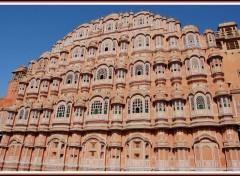 Wallpapers Trips : Asia Façade à Jaipur - Rajasthan