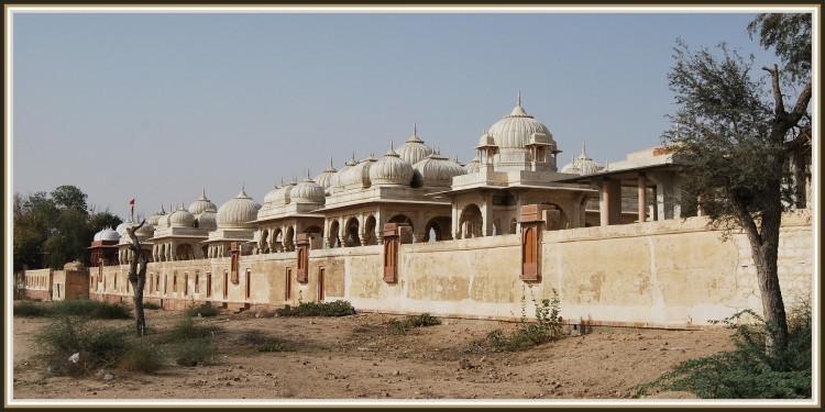 Wallpapers Trips : Asia India Cénotaphes royaux à Manwar - Rajasthan