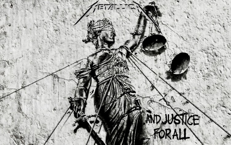 Fonds d'écran Musique Metallica ...And justice for all