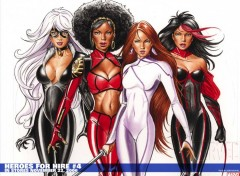 Fonds d'écran Comics et BDs heroes for hire