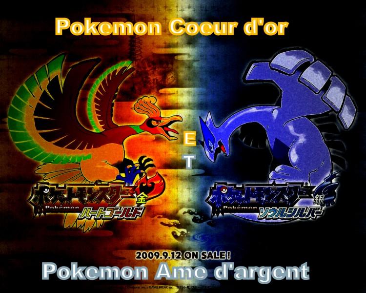Wallpapers Manga Wallpapers Pokemon Pokemon Coeur D Or Et