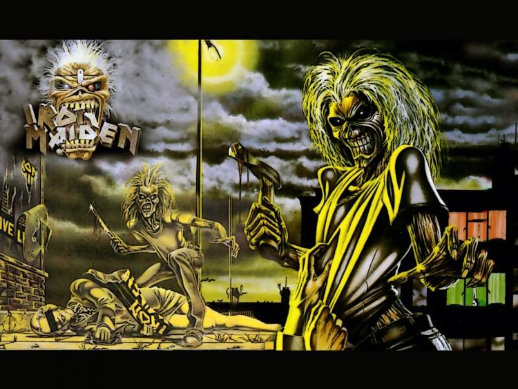 Wallpapers Music Iron Maiden killers