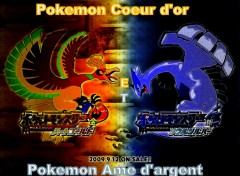 Wallpapers Manga Pokemon Coeur d'or et Ame d'argent.