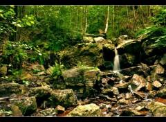 Fonds d'écran Nature Cascade des Nutons