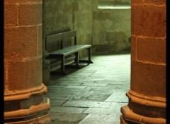 Fonds d'écran Voyages : Europe Solitude et prière dans l'abbaye du Mont  Saint Michel