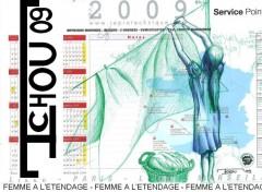 Wallpapers Art - Painting FEMME A L'ETENDAGE