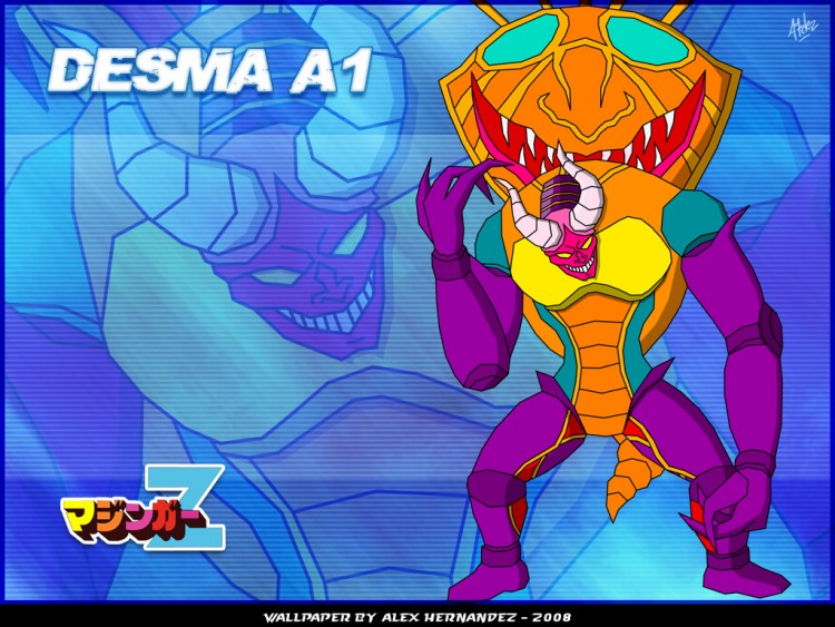 Fonds d'écran Manga Mazinger Z Desma A1