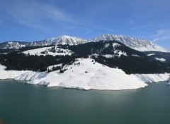 Wallpapers Nature Mont d'Or et lac de L'Hongrin (Suisse)