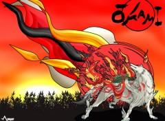 Fonds d'écran Jeux Vidéo Ōkami, grande déesse.