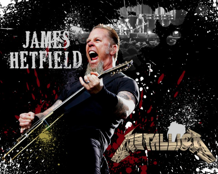 Fonds d'écran Musique Metallica James Hetfield (Metallica)