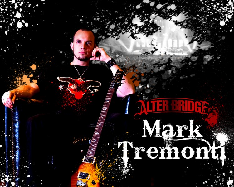 Fonds d'écran Musique Alter Bridge Mark Tremonti (Alter Bridge)