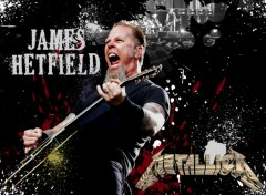 Fonds d'écran Musique James Hetfield (Metallica)