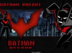 Fonds d'écran Comics et BDs Batman Beyond - Gotham Knight