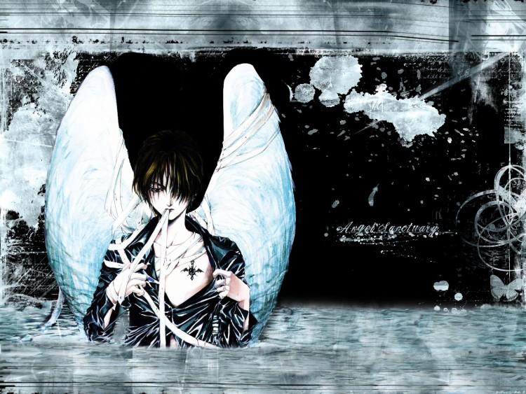 Wallpapers Manga Air ange déchu