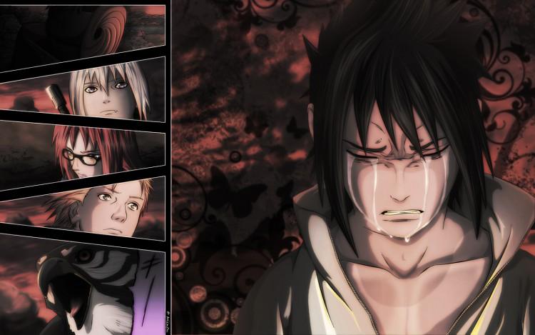 Fonds d'écran Manga Naruto Taka. La Vengeance du Faucon.