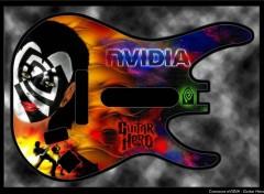 Wallpapers Digital Art Concours nVIDIA - Guitar Hero 2009