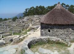 Fonds d'écran Constructions et architecture Gisement de Santa Tegra, Galicia.