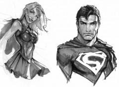 Fonds d'écran Art - Crayon superman