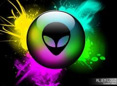 Wallpapers Digital Art Alien Logo