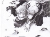 Wallpapers Art - Pencil gaara