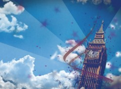 Fonds d'écran Art - Numérique Big Ben - {Remix}