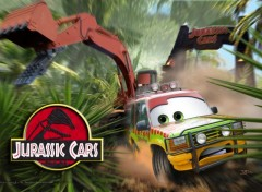 Fonds d'écran Dessins Animés Jurassic Cars