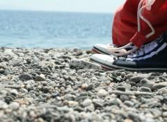 Fonds d'écran Objets Scarpe al mare