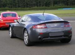 Fonds d'écran Voitures Aston Martin vintage.