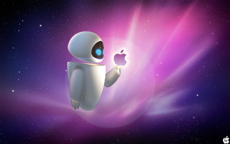 Fonds d'écran Informatique Apple Apple et eve