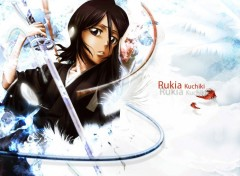 Fonds d'écran Manga Rukia