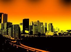 Fonds d'écran Art - Numérique American city