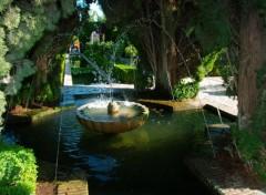Fonds d'écran Voyages : Europe Grenade - Alhambra (Jardins du Palais d'été)