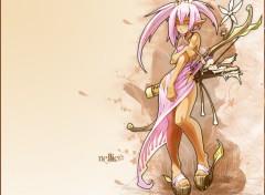 Fonds d'écran Manga Elfe des bois