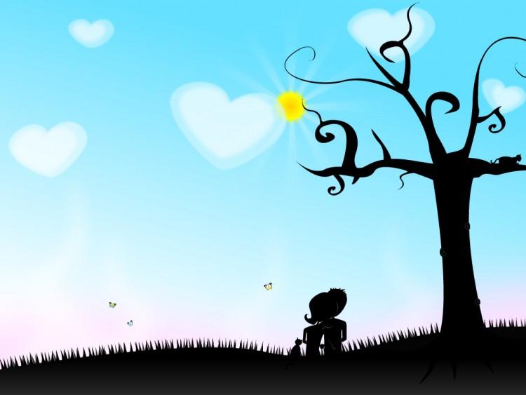Fonds d'écran Art - Numérique Amour, amitié Main dans la main, version finale ...