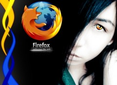 Fonds d'écran Informatique Firefox Girl