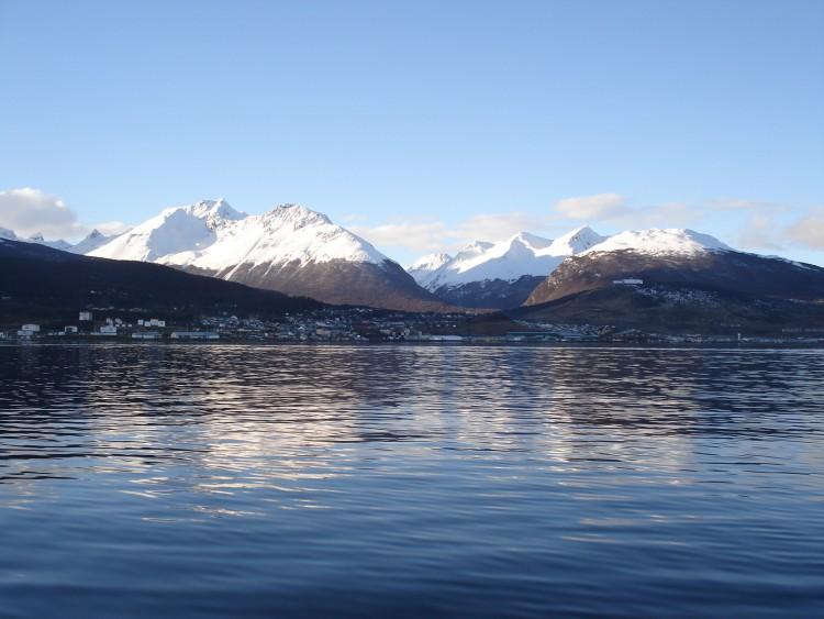 Fonds d'écran Voyages : Amérique du sud Argentine Baie d'Ushuaia