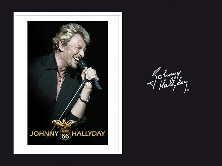 Fonds d'écran Musique Johnny Hallyday JOHNNY HALLYDAY TOUR 66