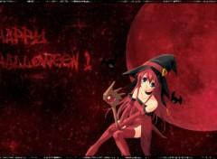 Fonds d'écran Manga Happy Halloween!